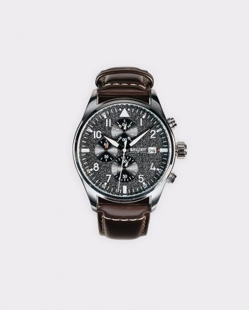 wagstaff watch dark brown